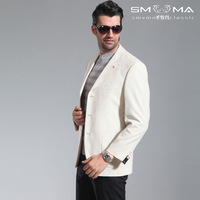 Hot Selling America Australia Male suit blazer men's clothing outerwear male business casual men's plaid slim blazer