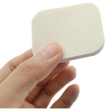Free shipping 6pcs/lot 5.2cm x4.2cm Soft Facial Face Sponge Makeup Cosmetic Powder Puff wholesale