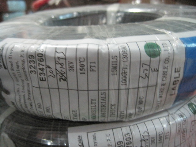 Factory direct: 3239wires 3KV24 silicone heat-resistant wires 3KV UL certification and temperature of 150 degrees(China (Mainland))