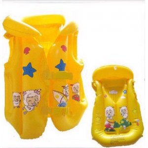 ss10505 Children's inflatable life jackets, life buoy, swim ring, inflatable swimsuit(China (Mainland))