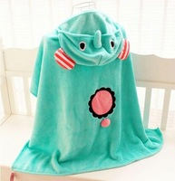 Circus circleof mantissas air conditioning cape blanket coral fleece baby blanket air conditioning cloak
