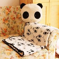 Air conditioning blanket pillow dual air conditioning is pillow girls gift plush toys birthday