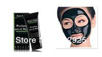 ShillsDeep Cleansing purifying peel off Black mud Facail face mask Remove blackhead facial mask 50ml 10pcs/lot