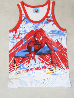 New Spider Man Kids Boys sleeveless sweater vest(China (Mainland))