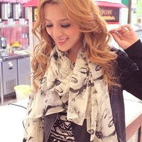 Fashion Bright color Beauty Marilyn Monroe scarf Chiffon wholesale Free Shipping!