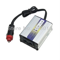 Free shipping 200W DC 24V to AC 220V Power Inverter and 5V USB Output