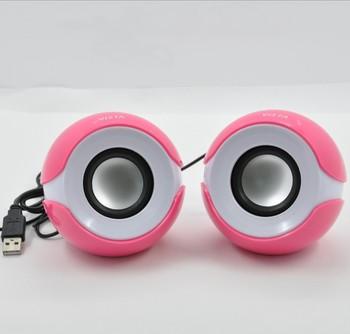 Desktop small audio usb mini speaker mini stereo small speaker