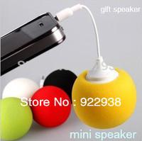 10psc/lot Small Sponge Speakers  Balloon Speakers,Mobile Phone MP3 Speakerswith multi color ,mini speaker