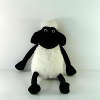 Retail 1 PCS Free Shipping High quality Shaun the sheep Plush doll 35CM