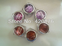 10pcs/lot High quality glitter powder for Temporary tattoo body art paint free shipping