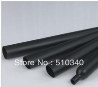 Free Shipping Dia. 2mm black Heat Shrink Tubing 2:1 Shrinkable Tubing length 200M(656Ft)