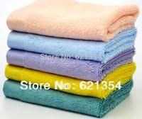 Free Shipping 100% Bamboo Fiber Towel, Wash Room Towels,Child Towels. 34* 34 CM