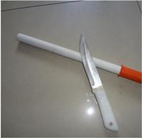 40cm (Overall Length) x 2.2cm (Diameter) Ceramic Knife Sharpener Rod w/ Plastic Handle