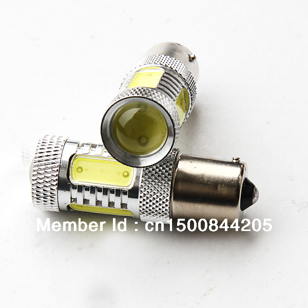 TOYOTA 7.5W High power DC12-24V COB LED constant current rear turn signal lights 1156\BA15S(China (Mainland))