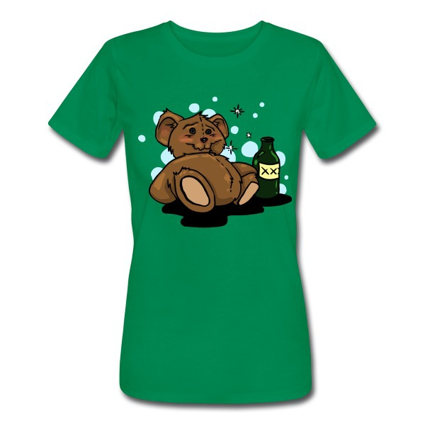 10% Off Wholesale for Custom Fashion Female T-shirts Printing Sleeping Teddy Bear 100% Cotton Clothing Personalized Style(China (Mainland))