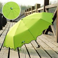Heterochrosis umbrella folding umbrellas princess pencil sun protection umbrella