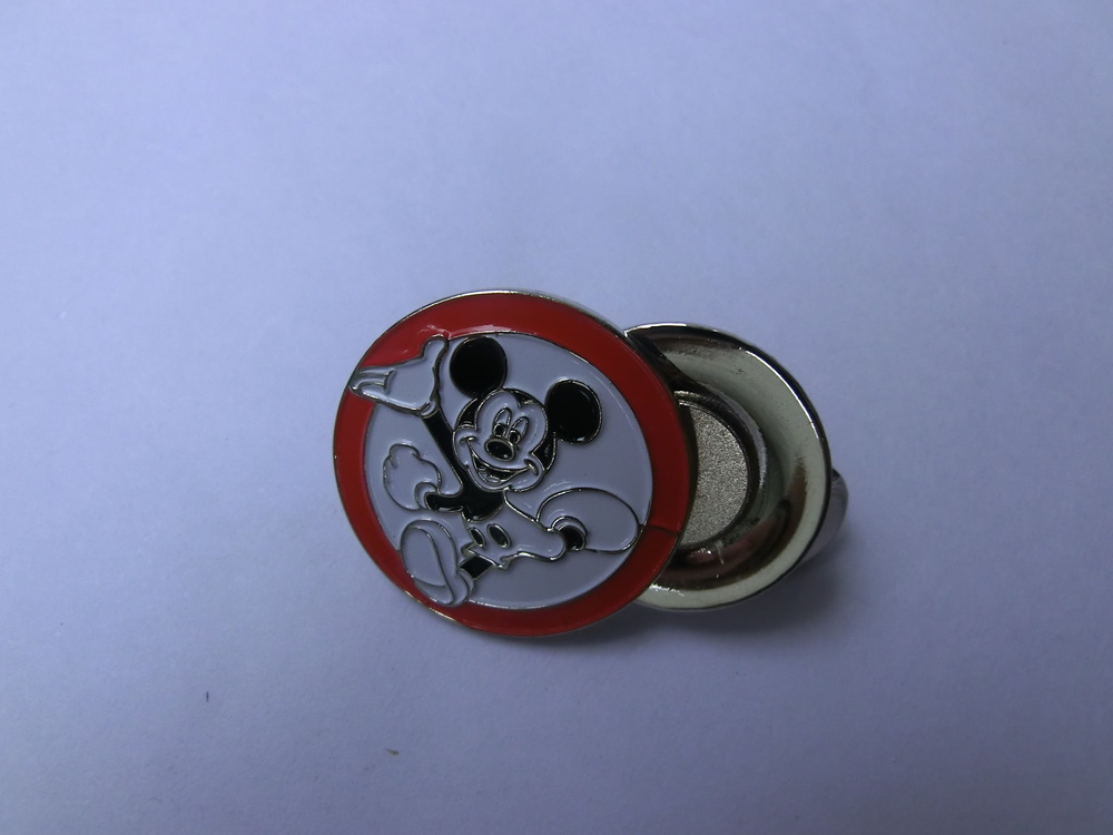 Golf ball marker & hat clip -Micky funny design 2013 Hot Sale Golf Promotional Gilf Wholesale(China (Mainland))