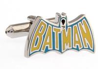 2013 The Bat Man  Design  Fashion  Enamel Cufflinks for mens  jewelry  A0984