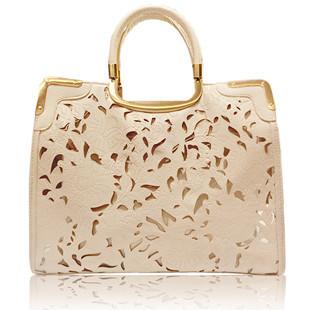High Quality women's handbag free shipping cutout transparent  vintage tote bag  fashion messenger bags