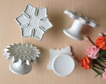 Free shipping 4PCS Sun Flower shape mold sugar Arts set Fondant Cake tools/cookie cutters