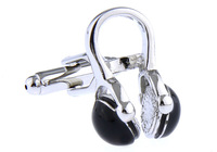 Classic The headphones  Design  Fashion  Cufflinks for mens  jewelry  A0993