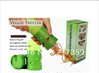 Wholesale price 1set New Vegetable Fruit Twister Cutter Slicer Processing Kitchen Utensil Tool   670275