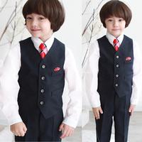 boy blazer 2014 spring new Boy's suit/Flower boy vest /formal suit / child costume