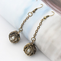 Accessories earrings vintage eloquence elegant design long earrings