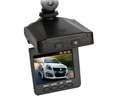 "H198 Car DVR Video Color Screen 2.5"" LCD 6 IR LED Night Vision DVR Car Camera Free shipping(China (Mainland))"