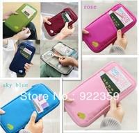 1pcs/lot 6 Colors Short design Travel Passort card  Credit / Cash holder Wallet / Purse unisex  Case Bag