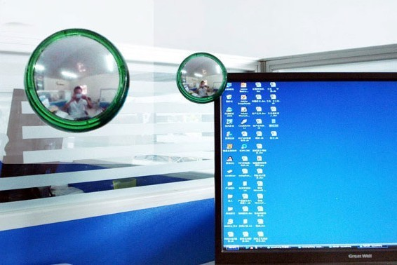 Computer Laptop Monitor Vision magnifier Rearview Rear View Mirror(China (Mainland))