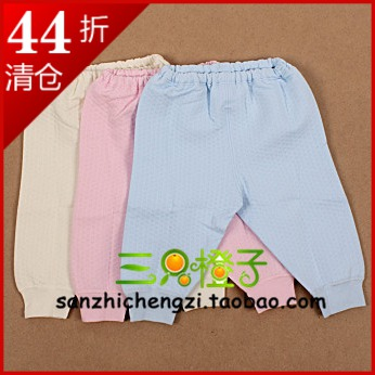 Minimoto clip wire trousers warm pants autumn and winter thermal underwear yu1213(China (Mainland))