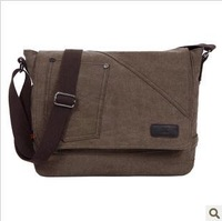 2013 new 100% canvas male bag casual shoulder bag messenger bag durable free shipping