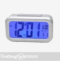 Large screen digital mute alarm clock led luminous clock light sensor clock electronic alarm clock