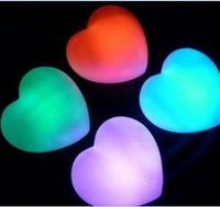 lovely heart shape glowing lights for the best love gifts