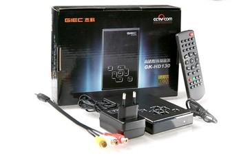 free shipping GIEC GK HD130 1080P Portable multifunction Mini HD Media Player HDMI Media Player