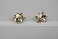 517hy - - badge cravat metal badge silver
