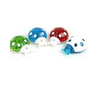 stereo cartoon refrigerator 4 pcs random color Ladybug