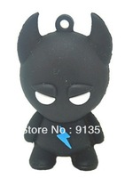 Flash monster shape usb flash memory stick 2GB 4GB 8GB free shipping