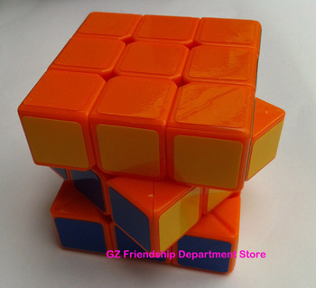 5.7cm Dayan V 5 zhanchi 3x3x3 magic speed cube twist puzzle Orange color with extra sticker+Worldwide Free Shipping