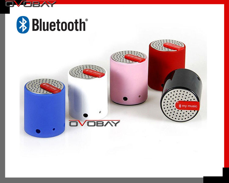 Fedex Shipping Bluetooth Stereo Wireless Bluetooth speaker stylish portable Direct from Factory(China (Mainland))