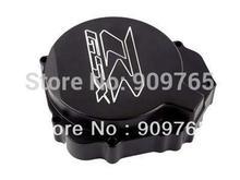 Free Shipping Black Stator Engine side Cover For 2005-2008 Suzuki GSXR GSX-R 1000