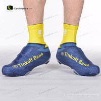 2 pairs/lot tour de france pro team bike bicycle shoe covers, windstopper cycling shoe covers