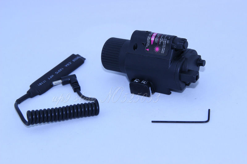 Free Shipping Laser Flashlight Combine With Laser Designator Sight for Riflescope Hunting Red Laser Light Free Switch Mount(China (Mainland))