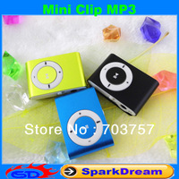 Factory Promotion MINI Clip MP3 Player With 8 Color Support 8GB Micro SD(TF) Card Slim MP3 Music Player