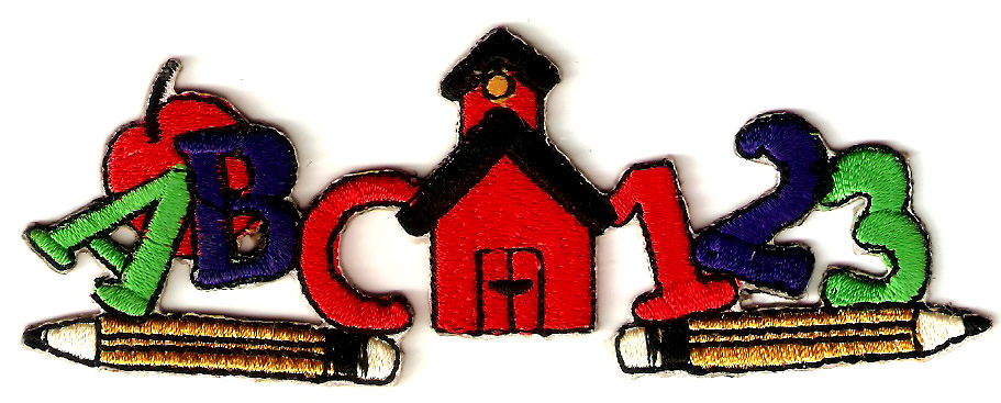 Letter digital cloth attached clothes embroidery patch diy applique 11x4cm(China (Mainland))