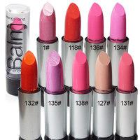 free shipping 12pcs Water balm lip balm lipstick dull peach orange neon lilac rose 3.5g sistance nude color