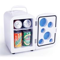 4L Mini Refrigerator,4L Mini household refrigerator,Portable Heater Box 4L,White Color Warm/Cold