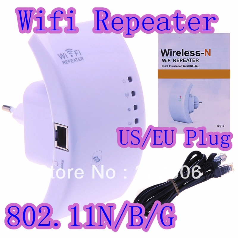 Free Shipping Wireless-N Wifi Repeater 802.11N/B/G Network Router Range Expander 300M 2dBi Antennas Signal Boosters(China (Mainland))