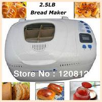 No. 1 Supplier & Quality Electric Bread Maker Auto Bread Making Machine Kitchen Appliances 2.5LB Double Mixing Bar